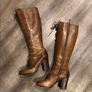 Frye Lace Boots